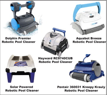 Robotic pool cleaners save energy