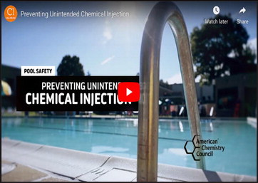 Preventing pool chemical gas exposure