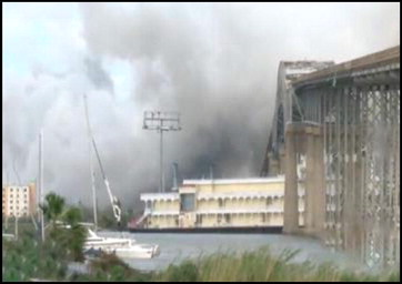 Fire at Bio-Lab Chemicals' Louisiana plant