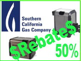Southern California Gas now offering 50% rebate on natural  gas heaters and appliances