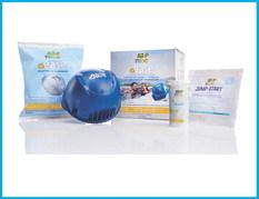 FROG @ease — sanitizing hot tubs without CYA