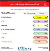 New App! pH-Alkalinity adjustment tool