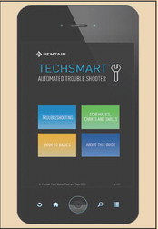Use Pentair's Tech Support App