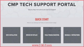 Custom Molded Products Support Portal