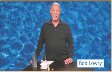 Pool chemistry changes can indicate leaks