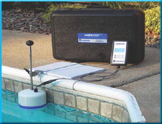 Anderson's 'Leakalyzer' detects pool water loss