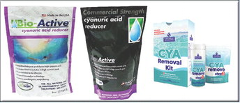 How to remove cyanuric acid from pool water