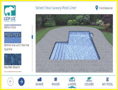 'Mirage' pool visualizer demonstrates pool cover