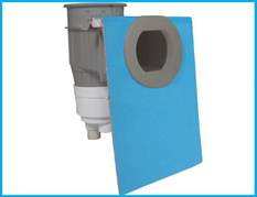 New 'Double-07' round skimmer for Fiberglass pools
