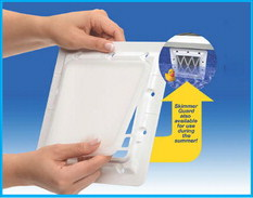 Protect pools from freeze damage with 'Lid' L Seal'