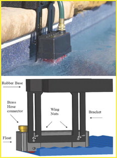 Maintain pool water levels with 'Fill-O-Matic'