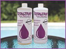 'Total Trap Pool Refresh' lowers TDS, no draining