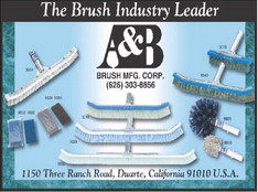 A & B Brush offers wall brushwithnylon,steeltips