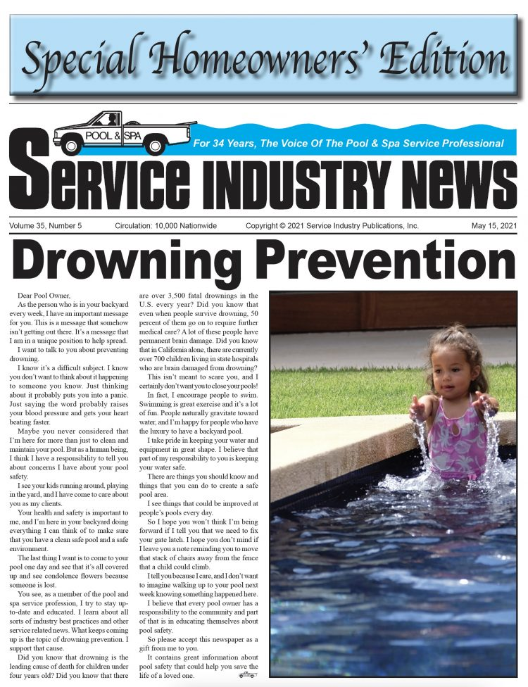 Special Drowning  Prevention  For The Homeowner  — Pages 26-30