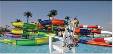 Like everywhere, waterparks are hiring