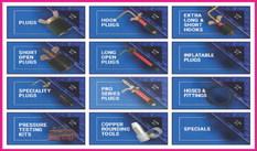 Starlight Mfg. has it all:  Plugs, hooks, hoses, fittings